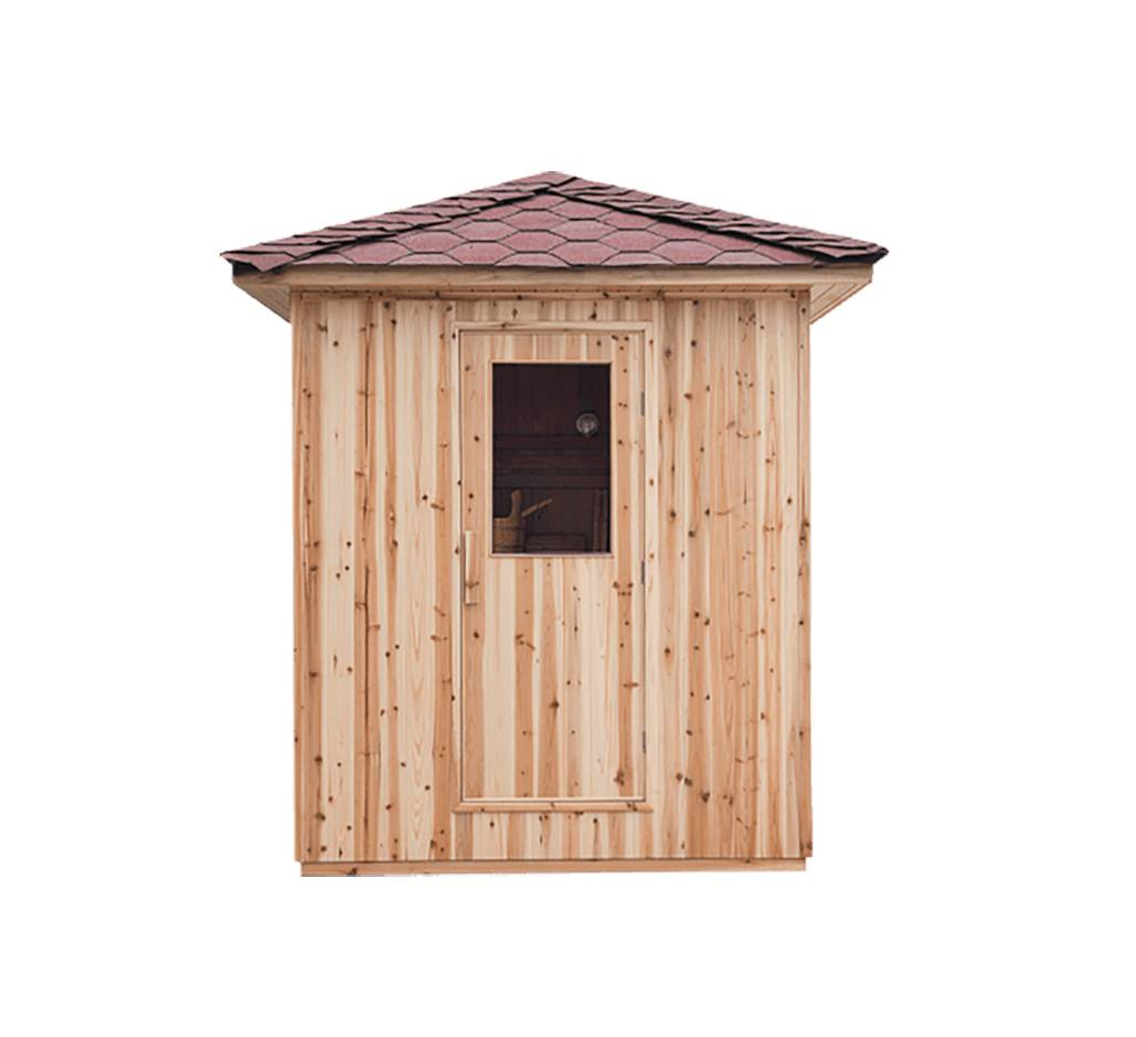 Sauna traditionnel extérieur à monter soi-même livraison sur le 13