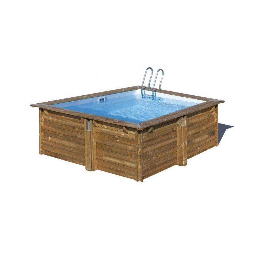 Où acheter en ligne une petite piscine bois pas cher 9X9 à monter