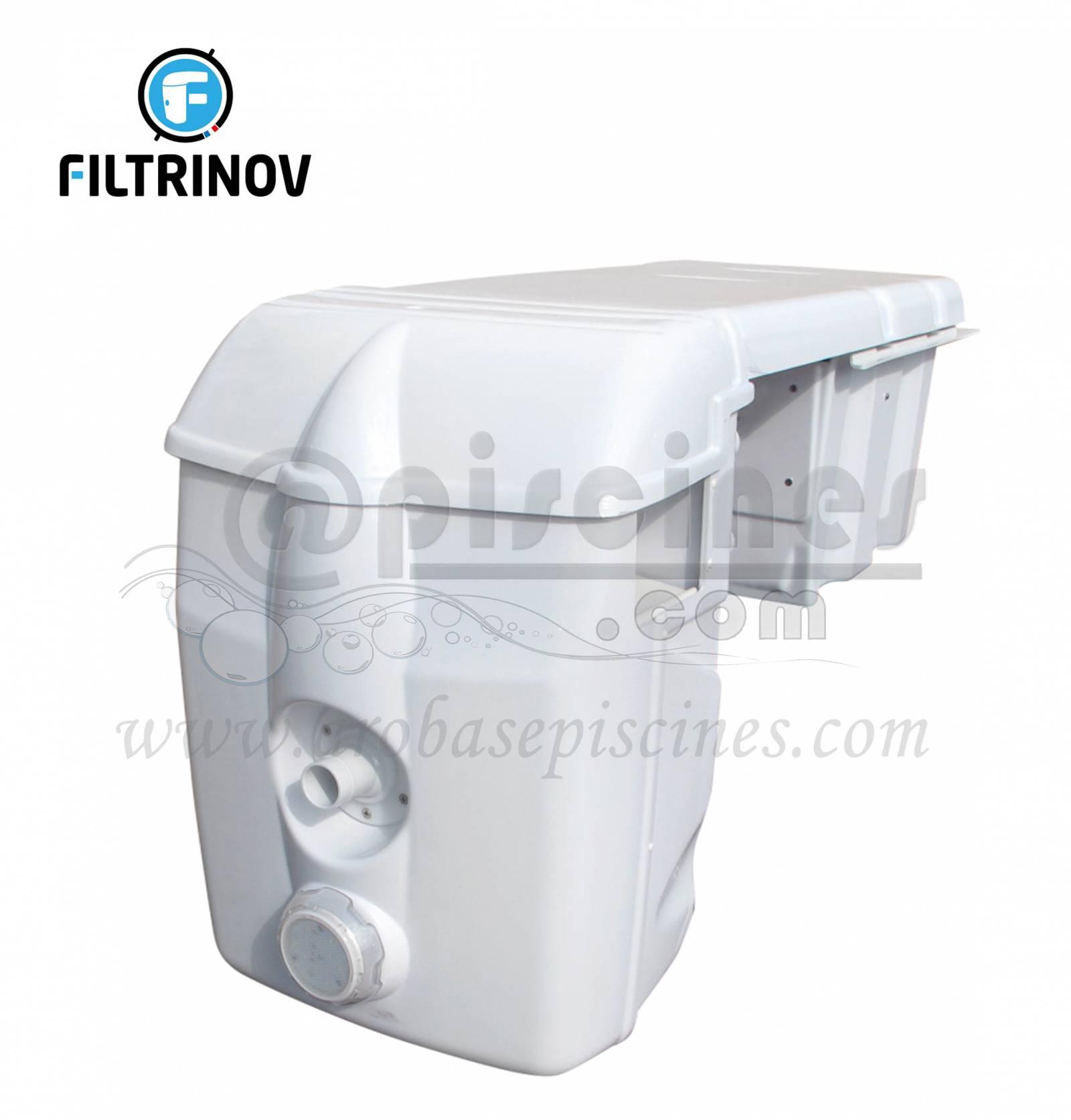 bloc filtrant filtrinov mx 18 avec by pass chauffage piscine en ligne arobase piscines. Black Bedroom Furniture Sets. Home Design Ideas