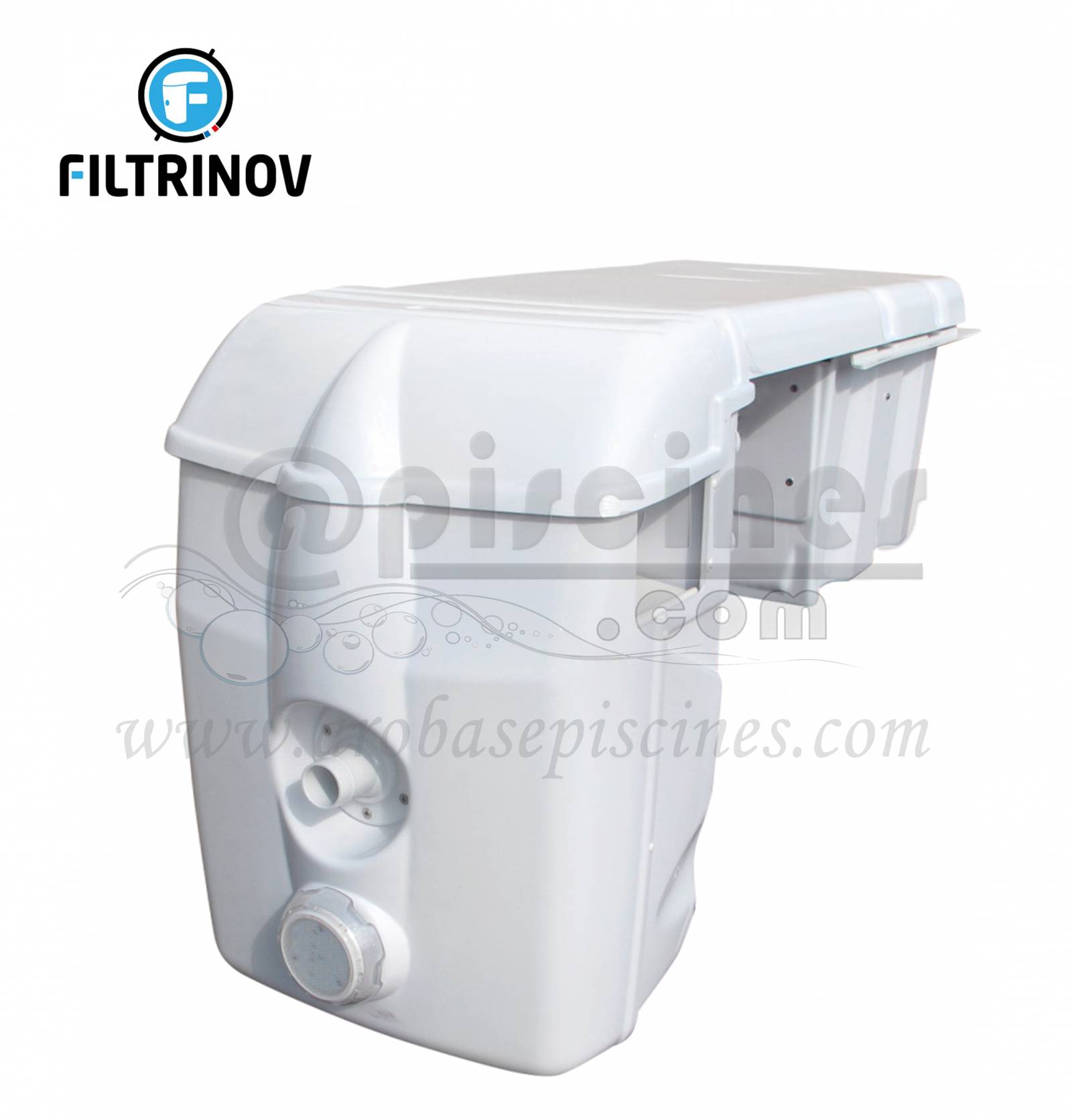 Bloc Filtrant Filtrinov Mx 18 Avec Electrolyseur Au Sel Regulation