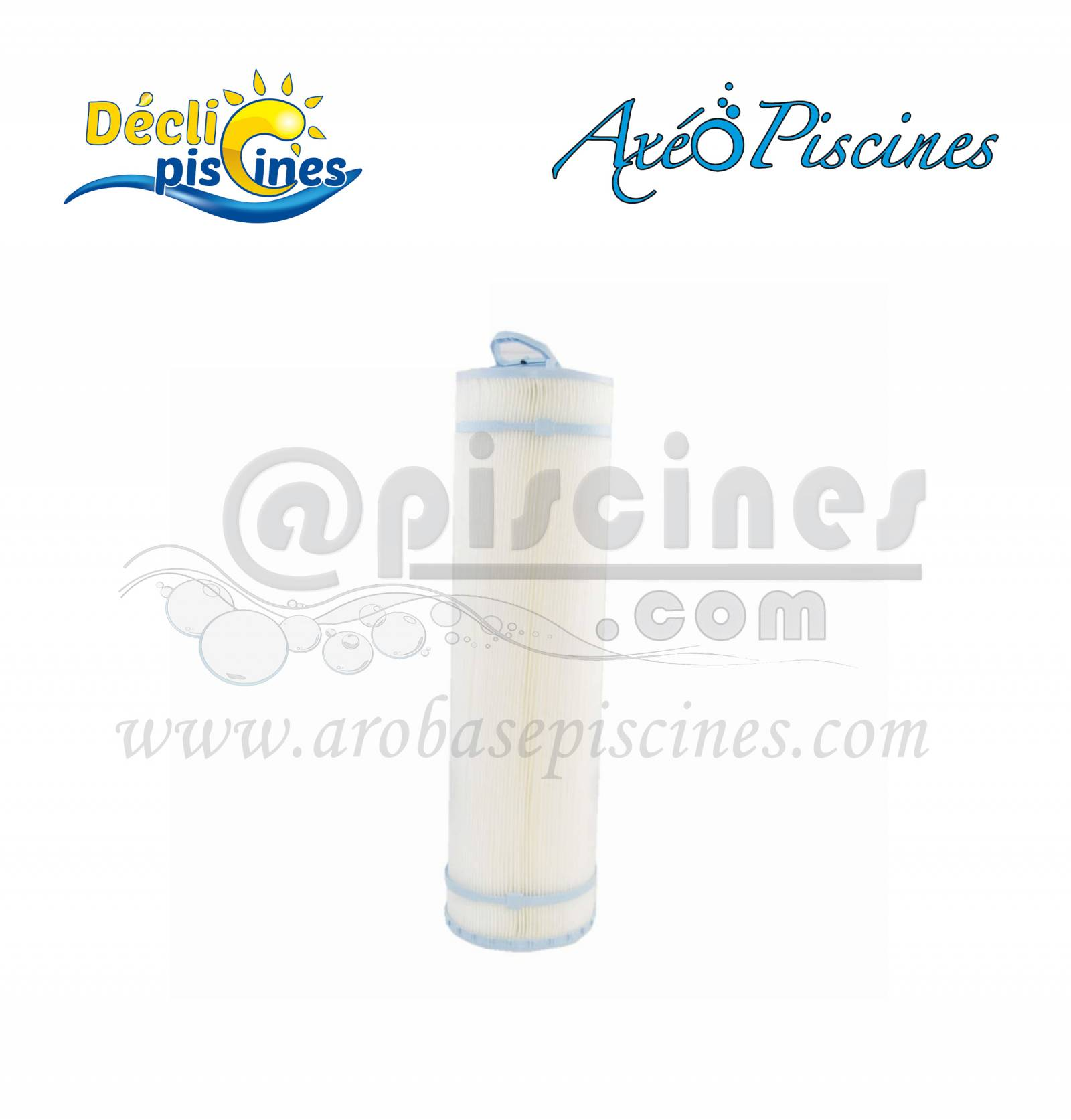 Cartouche filtrante pour axeo piscines paroi filtrante for Cartouche pour piscine