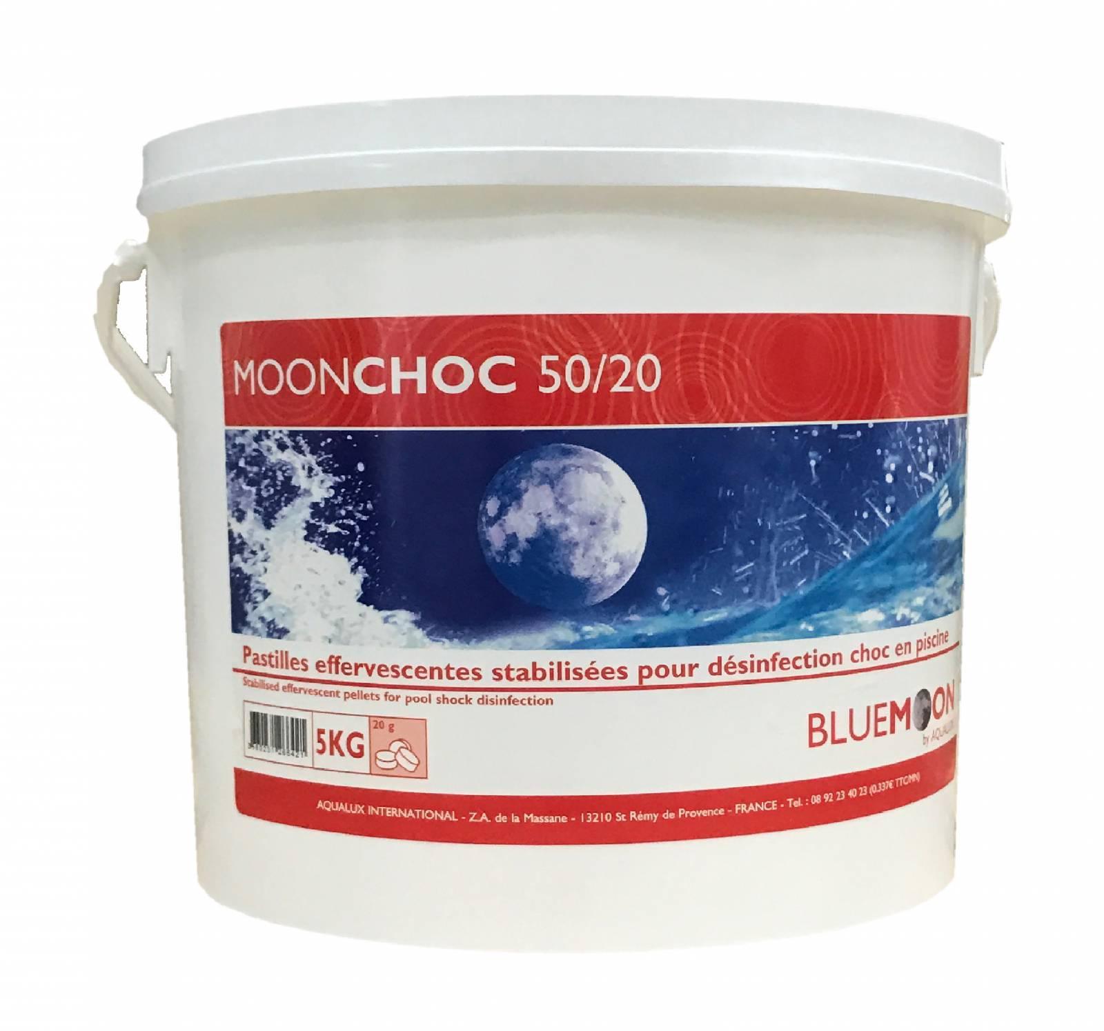 Chlore choc 5kg pastilles 20g piscine en ligne arobase - Pastille chlore piscine gonflable ...