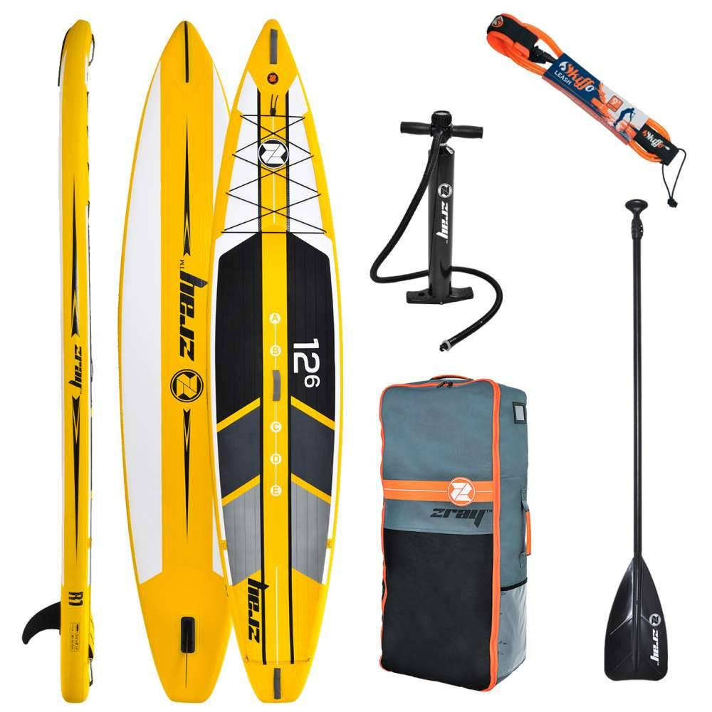 ACHTER UN PADDLE GONFLABLE HAUTE PERFORMANCE ZRAY R1