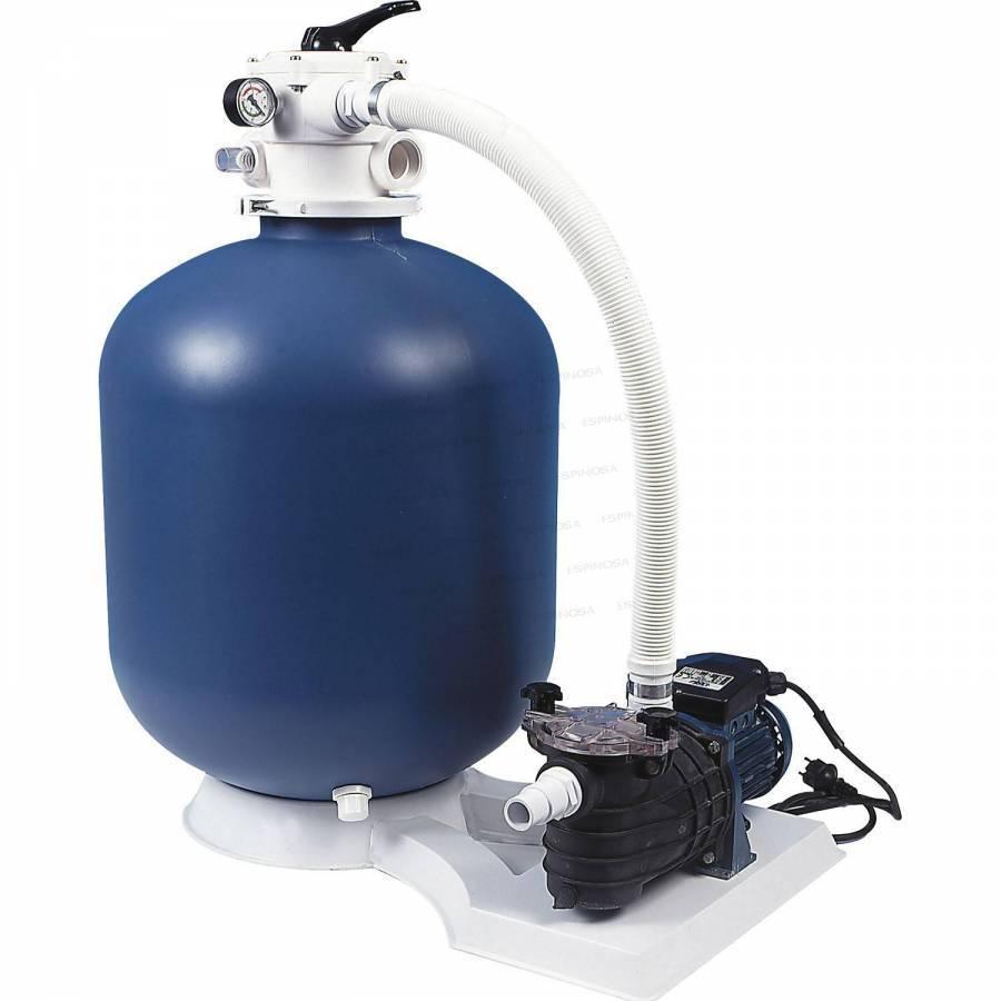 Platine de filtration complète pour piscine ou piscine hors sol