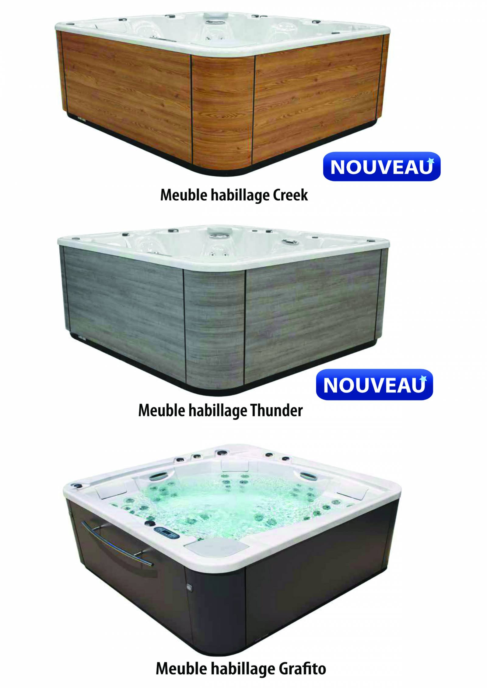 Spa portable astral pool 6 places mod le pacific 60 - Spa gonflable pas chere ...