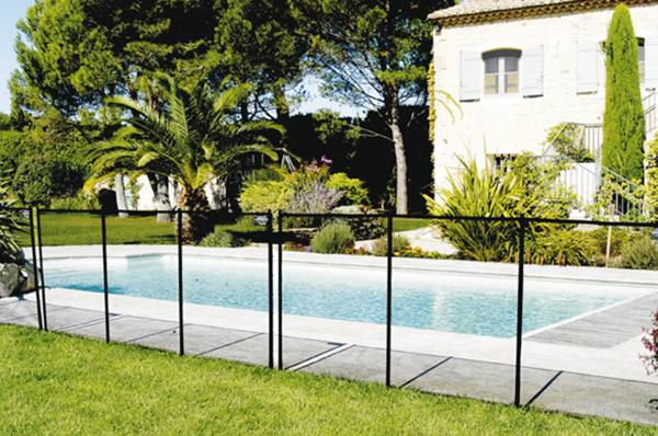 barri�re souple NF pour piscine