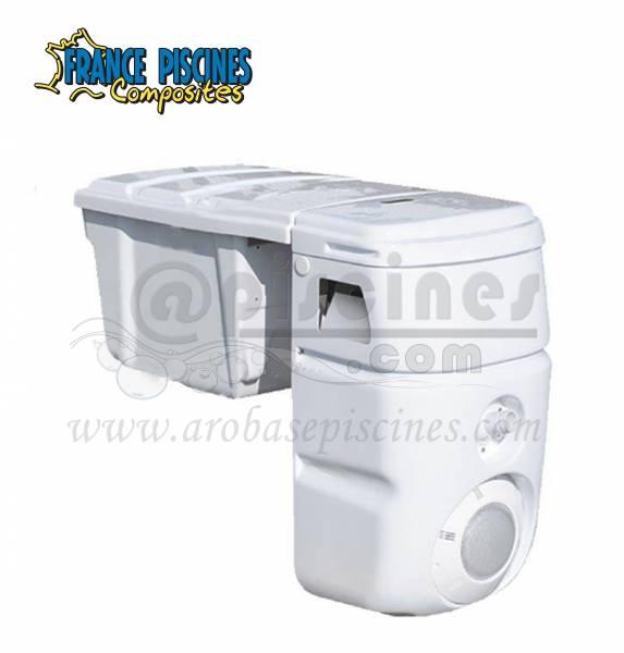 Piscines b ton bloc filtrant piscine en ligne arobase for Bloc filtrant piscine