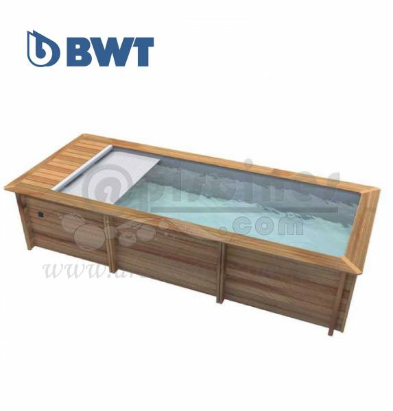 piscine hors sol bois urbaine rectangulaire moins de 10m2 piscine en ligne. Black Bedroom Furniture Sets. Home Design Ideas
